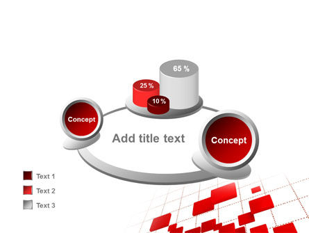 Surface Fragments PowerPoint Template Slide 16