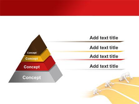 Sprint Runners PowerPoint Template Slide 12