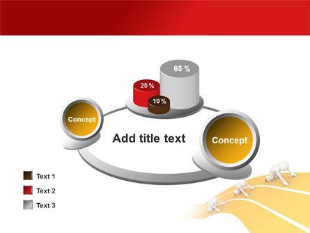 Sprint Runners PowerPoint Template Slide 16