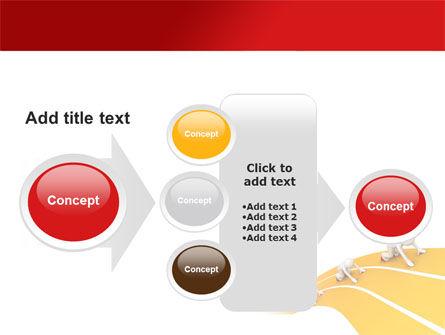 Sprint Runners PowerPoint Template Slide 17