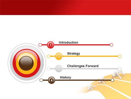 Sprint Runners PowerPoint Template, Slide 3, 08194, Education & Training — PoweredTemplate.com