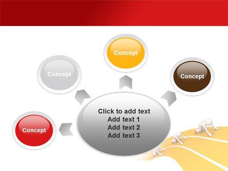 Sprint Runners PowerPoint Template Slide 7