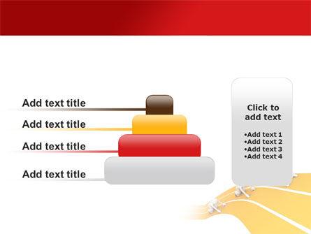 Sprint Runners PowerPoint Template Slide 8