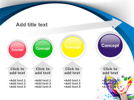 Funny Hand PowerPoint Template Slide 13