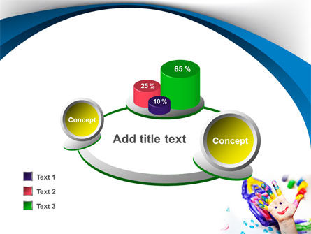 Funny Hand PowerPoint Template Slide 16
