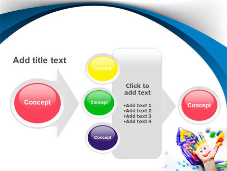Funny Hand PowerPoint Template Slide 17