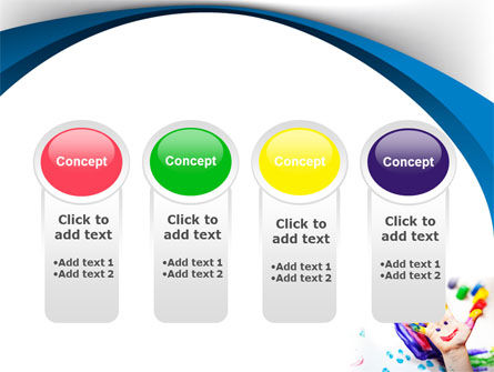 Funny Hand PowerPoint Template Slide 5