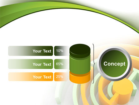 Labyrinth Solution PowerPoint Template Slide 11