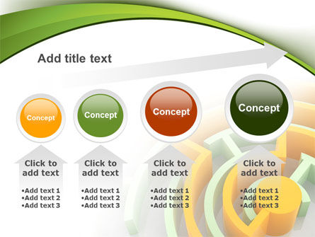 Labyrinth Solution PowerPoint Template Slide 13