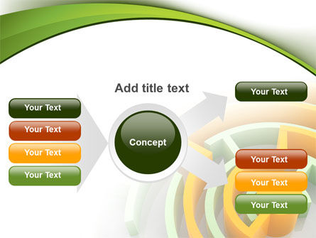 Labyrinth Solution PowerPoint Template Slide 14
