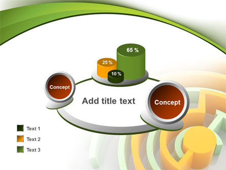 Labyrinth Solution PowerPoint Template Slide 16