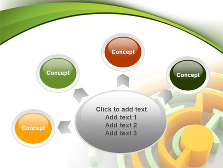 Labyrinth Solution PowerPoint Template Slide 7