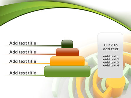 Labyrinth Solution PowerPoint Template Slide 8