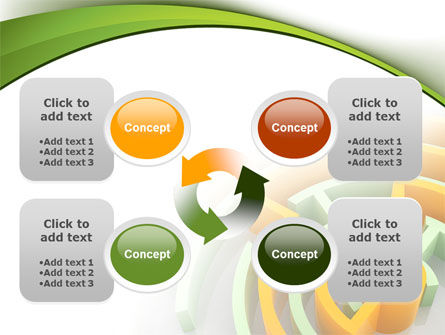 Labyrinth Solution PowerPoint Template Slide 9