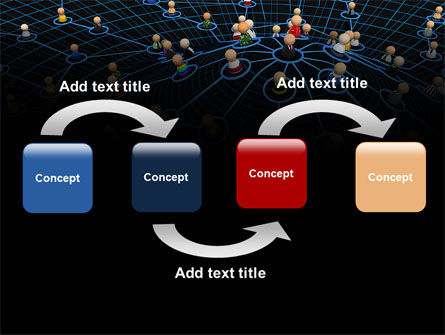Network Community PowerPoint Template Slide 4