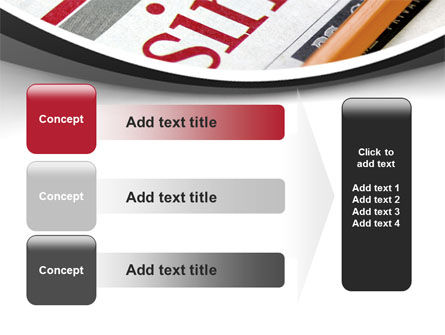 Business Newspaper PowerPoint Template Slide 12