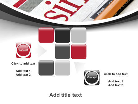 Business Newspaper PowerPoint Template Slide 16