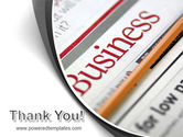 Business Newspaper PowerPoint Template#20
