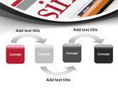 Business Newspaper PowerPoint Template#4
