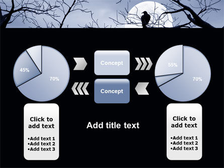Moonlit Tree Free PowerPoint Template Slide 11