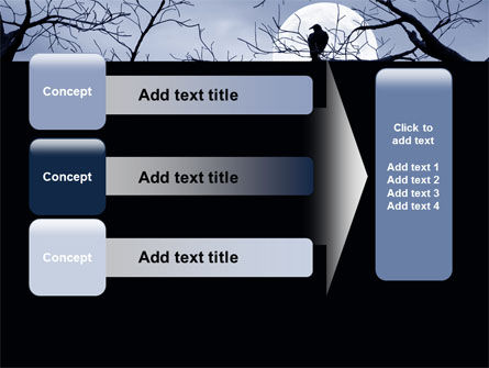 Moonlit Tree Free PowerPoint Template Slide 12