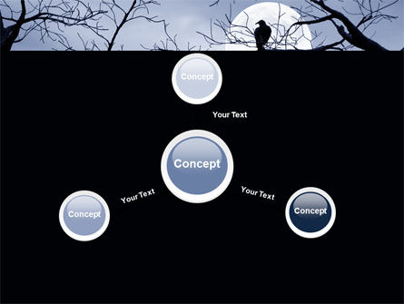 Moonlit Tree Free PowerPoint Template Slide 14