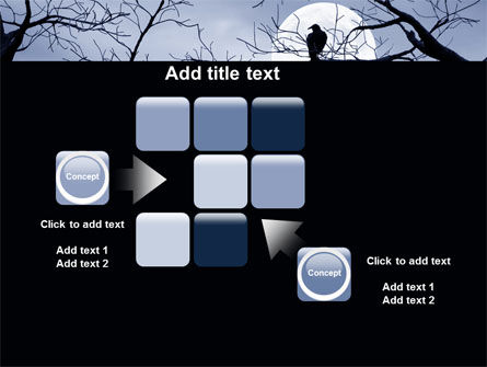 Moonlit Tree Free PowerPoint Template Slide 16