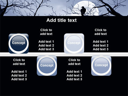Moonlit Tree Free PowerPoint Template Slide 19