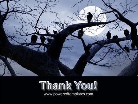 Moonlit Tree Free PowerPoint Template Slide 20