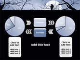 Moonlit Tree Free PowerPoint Template#11