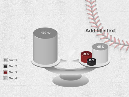 Baseball Stitching PowerPoint Template Slide 10