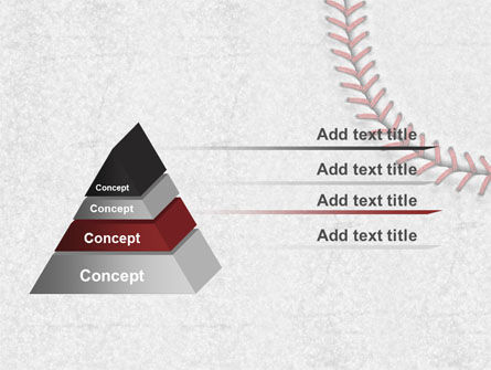 Baseball Stitching PowerPoint Template Slide 12