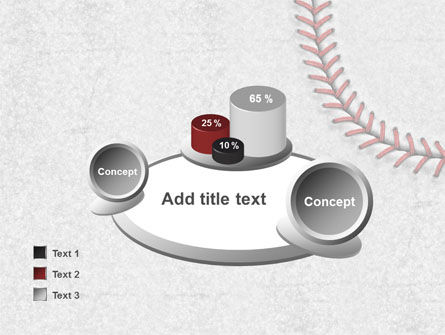 Baseball Stitching PowerPoint Template Slide 16