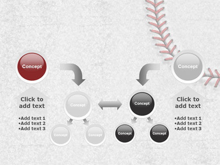 Baseball Stitching PowerPoint Template Slide 19