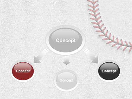 Baseball Stitching PowerPoint Template Slide 4
