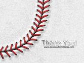 Baseball Stitching PowerPoint Template#20