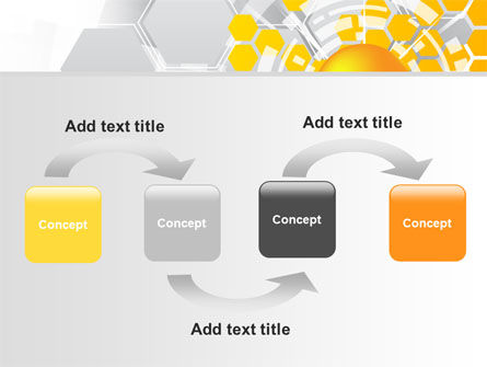 Orange Network Theme PowerPoint Template, Slide 4, 08206, Technology and Science — PoweredTemplate.com