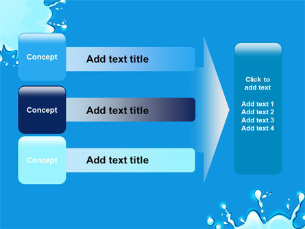 Blue Blots PowerPoint Template Slide 12
