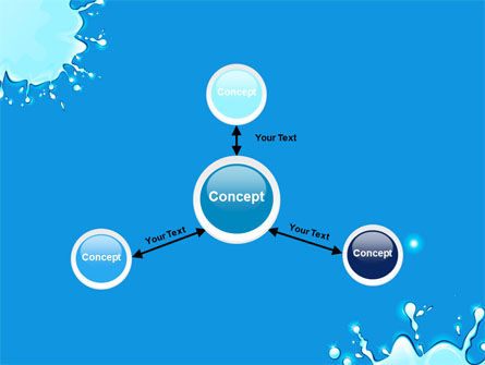 Blue Blots PowerPoint Template Slide 14