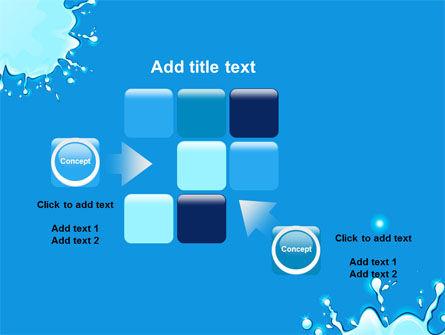 Blue Blots PowerPoint Template Slide 16