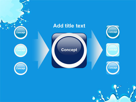 Blue Blots PowerPoint Template Slide 17