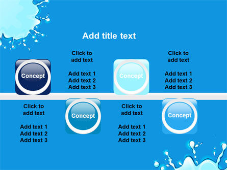 Blue Blots PowerPoint Template Slide 19