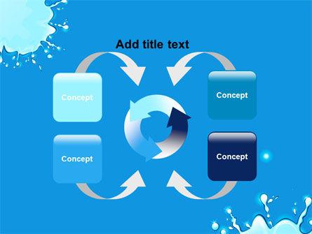 Blue Blots PowerPoint Template Slide 6