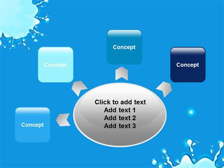 Blue Blots PowerPoint Template Slide 7