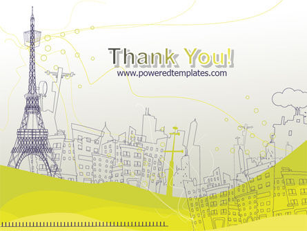 Paris Illustration PowerPoint Template Slide 20