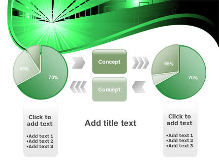 Green Light PowerPoint Template Slide 11