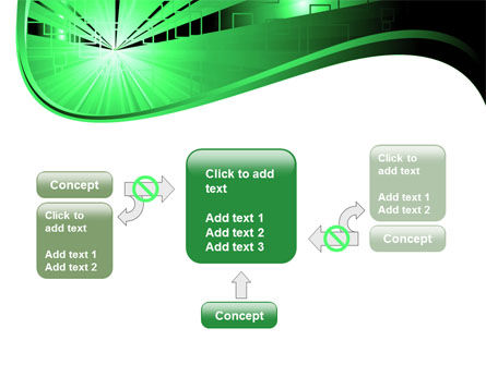 Green Light PowerPoint Template Slide 13