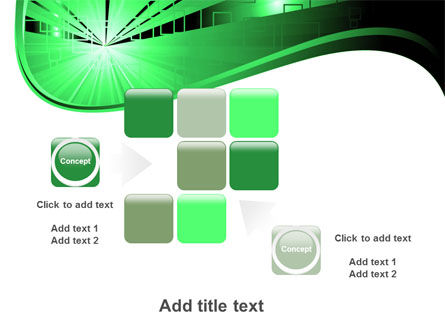 Green Light PowerPoint Template Slide 16