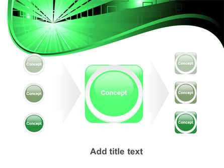 Green Light PowerPoint Template Slide 17