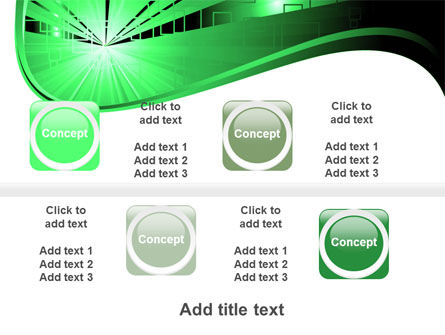 Green Light PowerPoint Template Slide 19